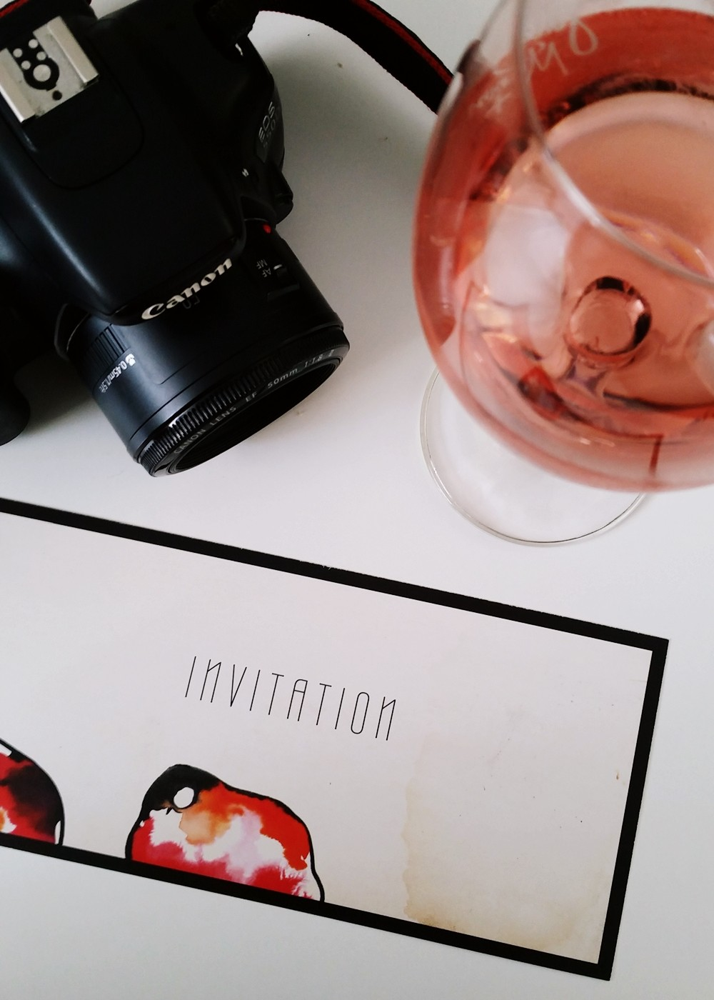 Invitation Rebekka Ruetz Jules Mumm Canon EOS 550 Fashion Week Berlin