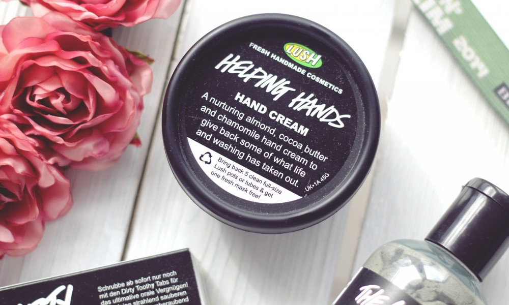 Lush Festivalpack Handcreme Helping Hands Bl1