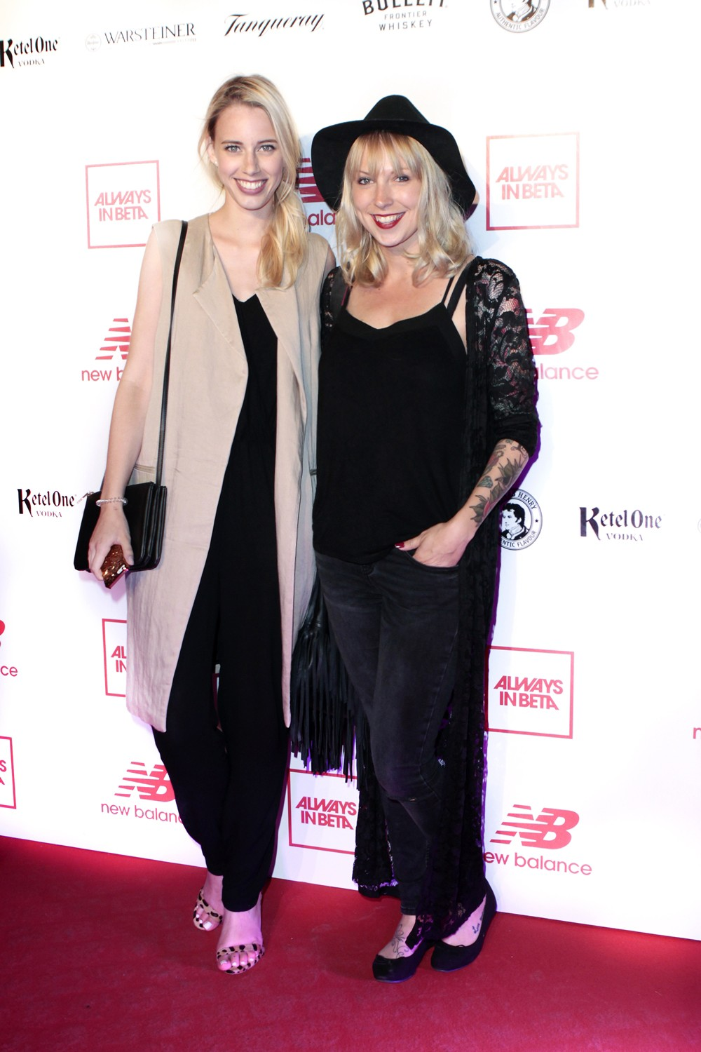 New Balance Party Red Carpet
