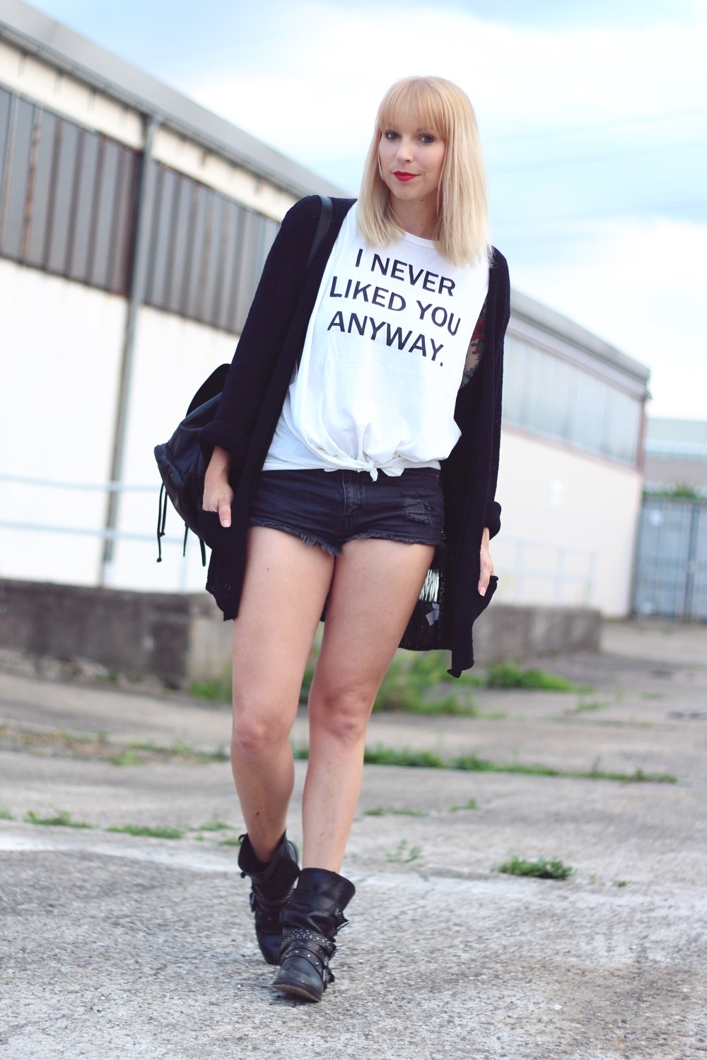 Outfit Never liked you High Waist Shirt 12