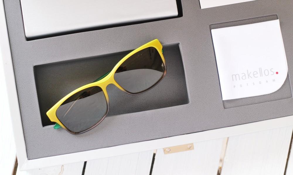 Sonnenbrille makellos Potsdam gelb