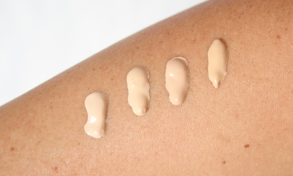 Catrice Even Skin Tone Foundation Swatch