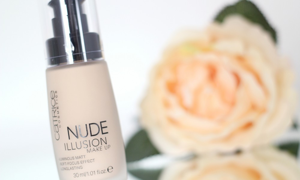 Catrice Nude Illusion Foundation Review