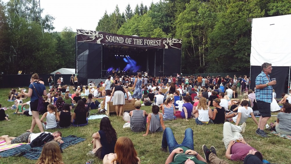 Hauptbühne Sound of the Forest 2015