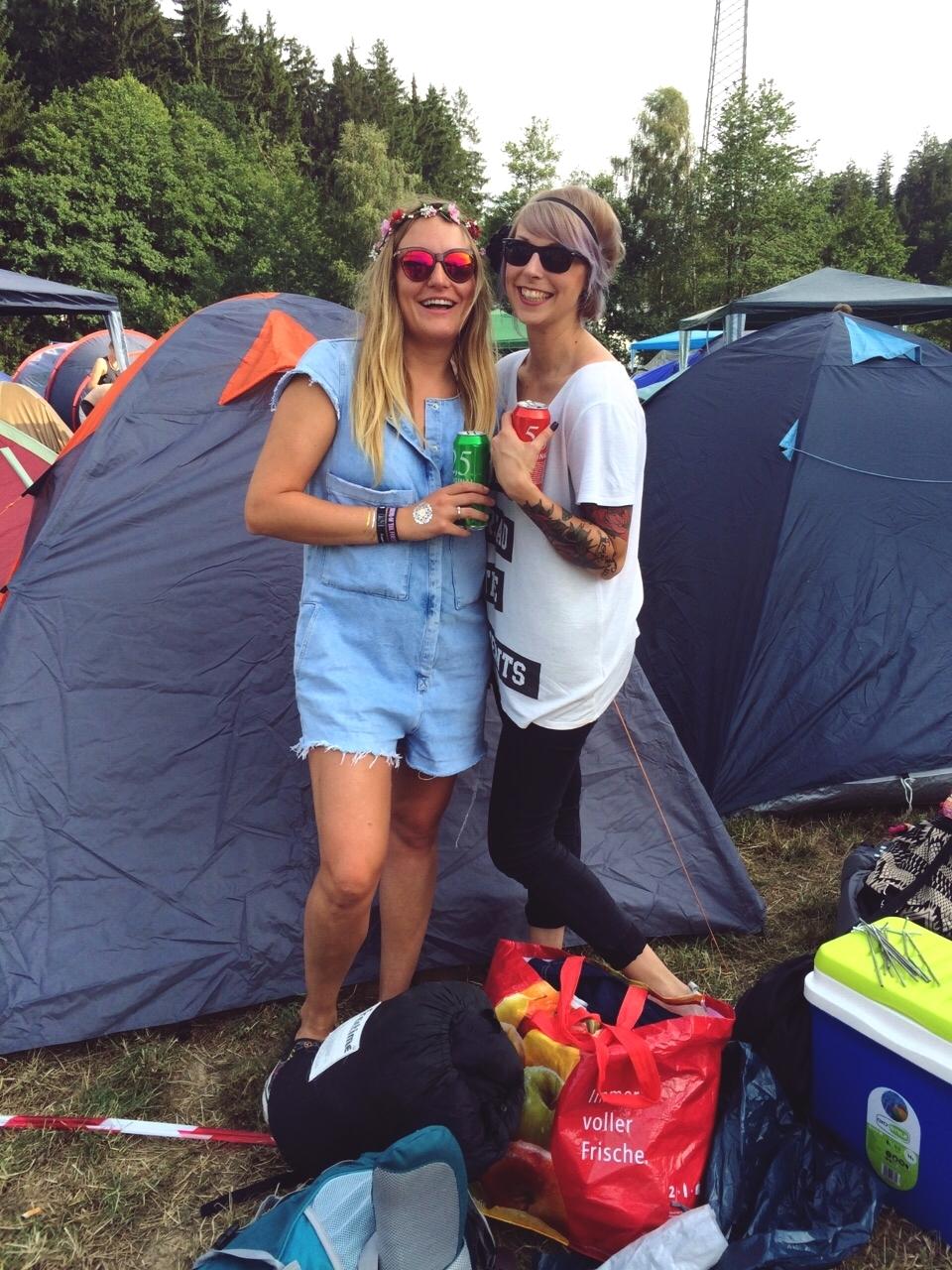 Liebe die Zweite beim Sound of the Forest Festival Festivallook