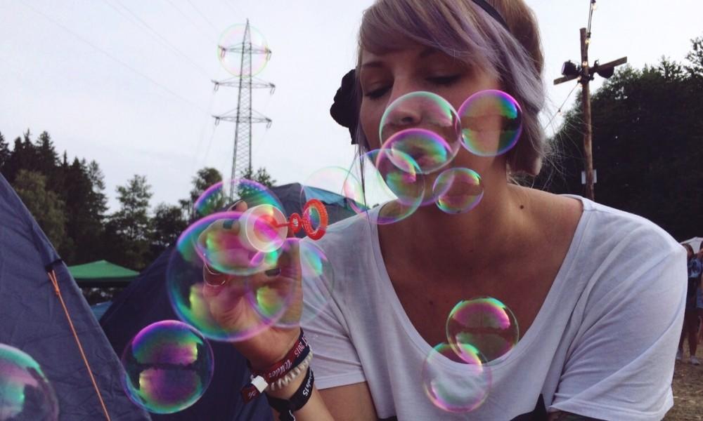 Seifenblasenfreuden