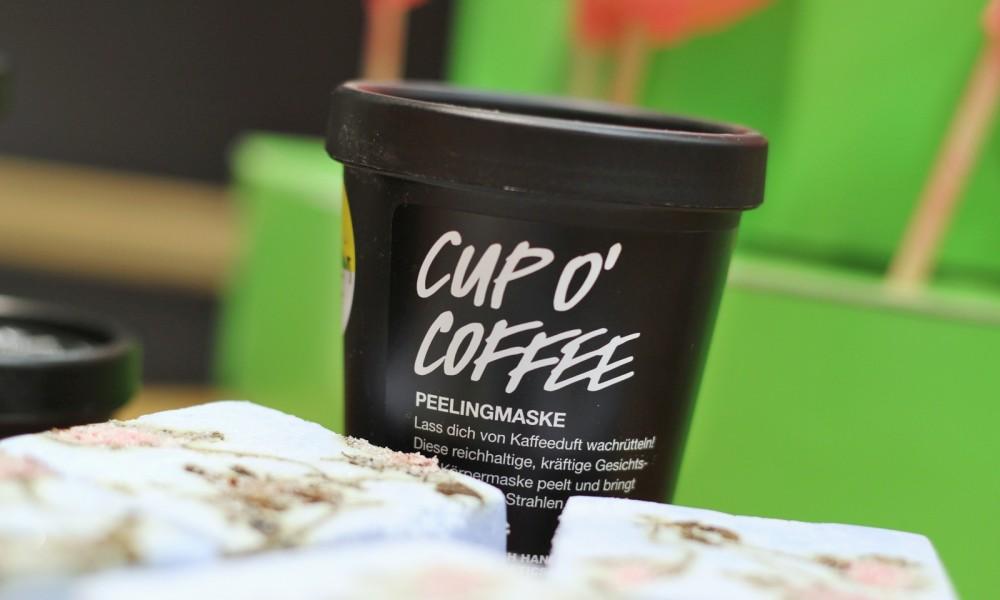 Cup O'Coffee Gesichts- und Körpermaske Lush