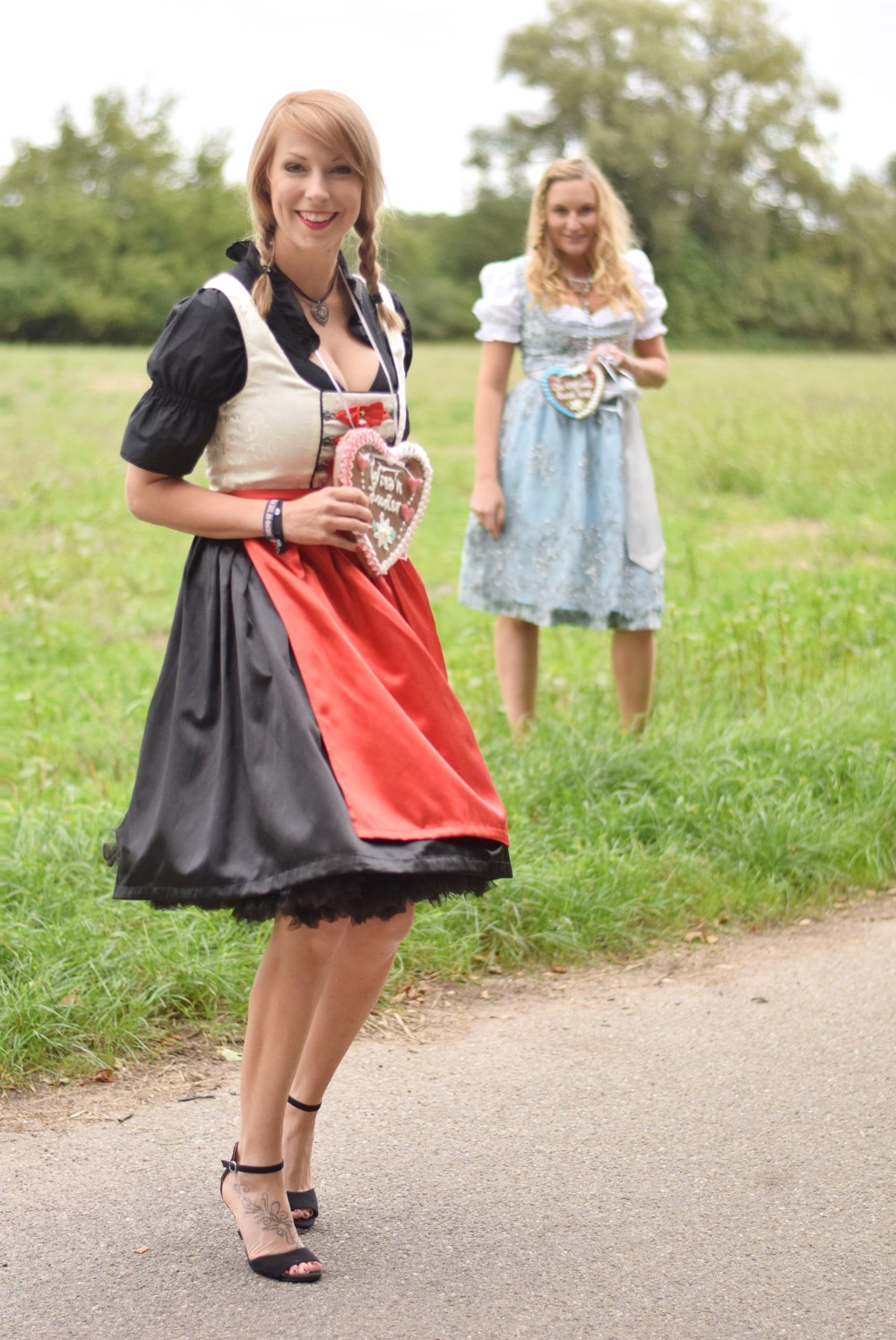 Fashionblogger Dirndl Lebkuchenherz 5