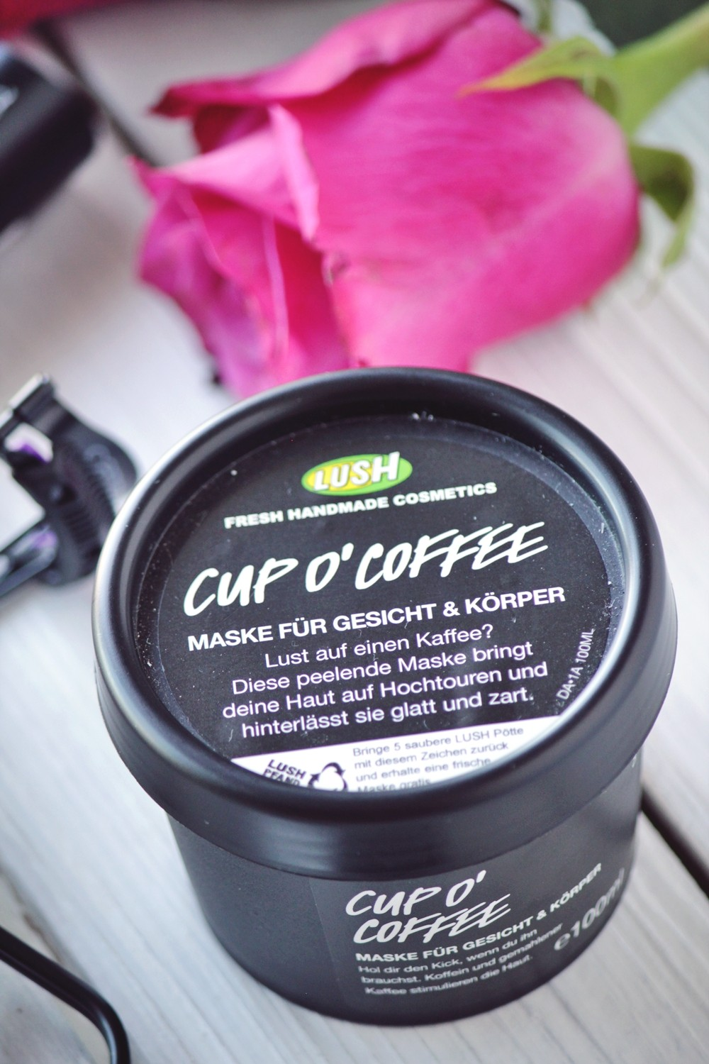 Holy Grails of beauty Lush Cup o coffee Maske