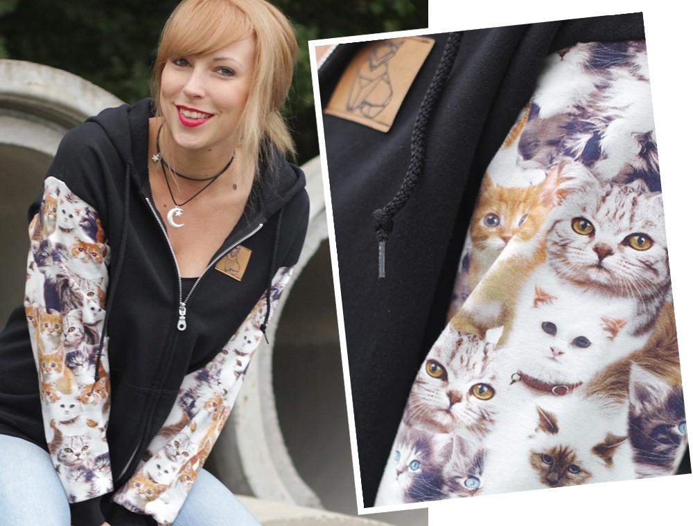 Katzenhoodie Weebit Vans Collage 2