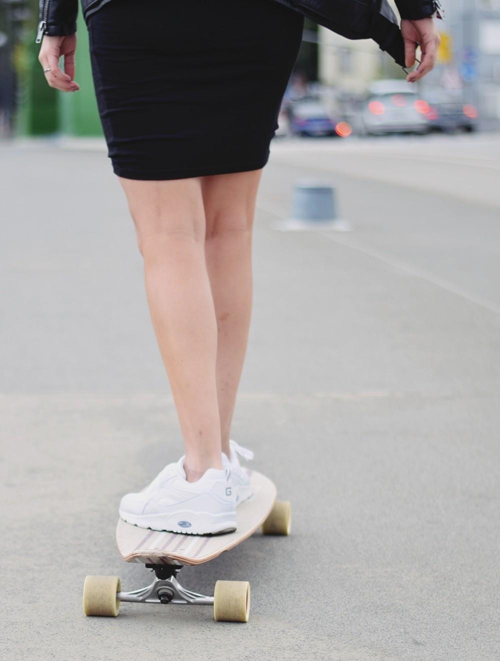 Longboard sneaker