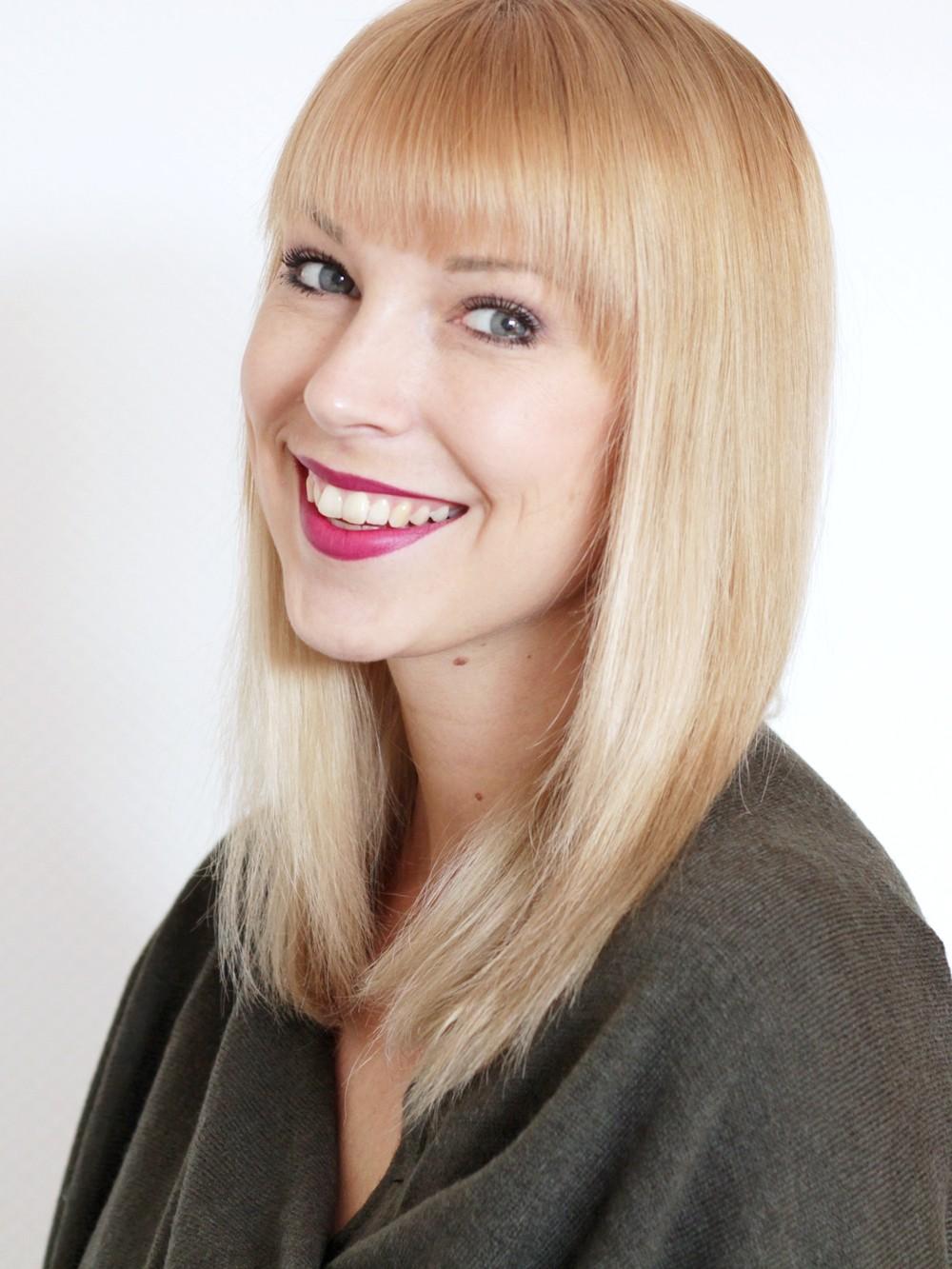 Philips Haarglätter Moisture Protect glatte Haare