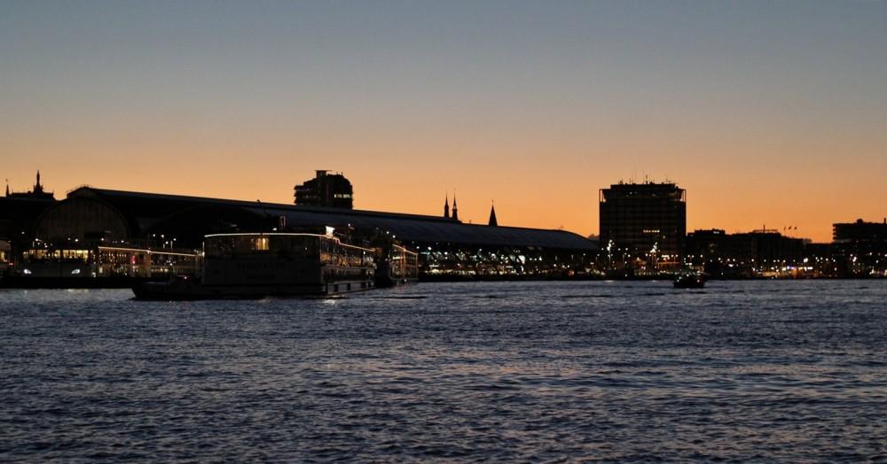 Amsterdam bei Nacht 3