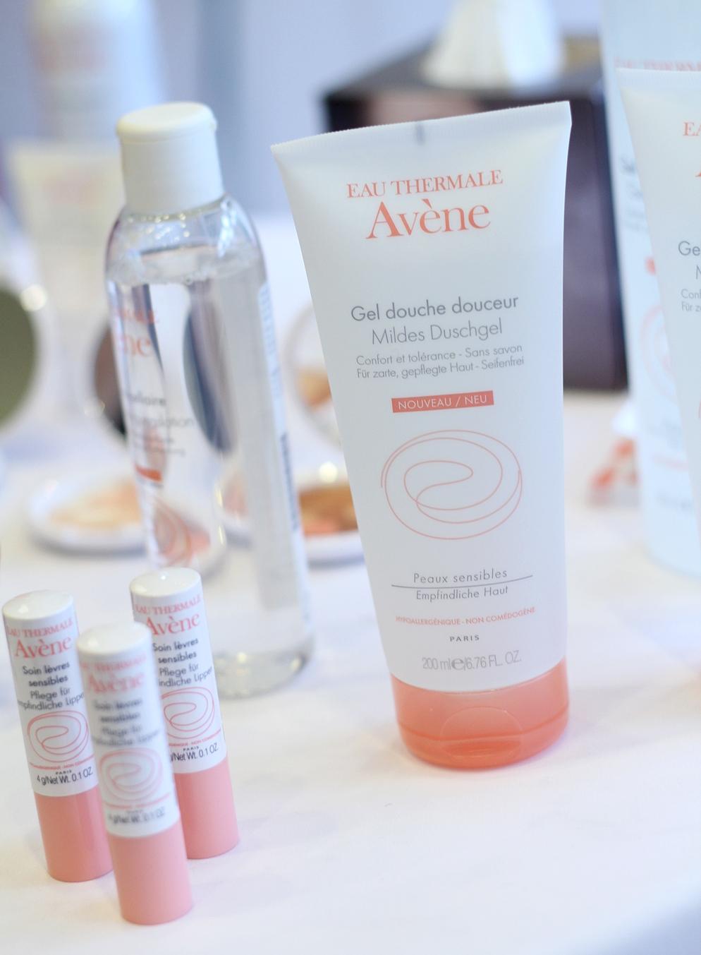 Avene Mildes Duschgel und Lippenpflege Beautypress 2015
