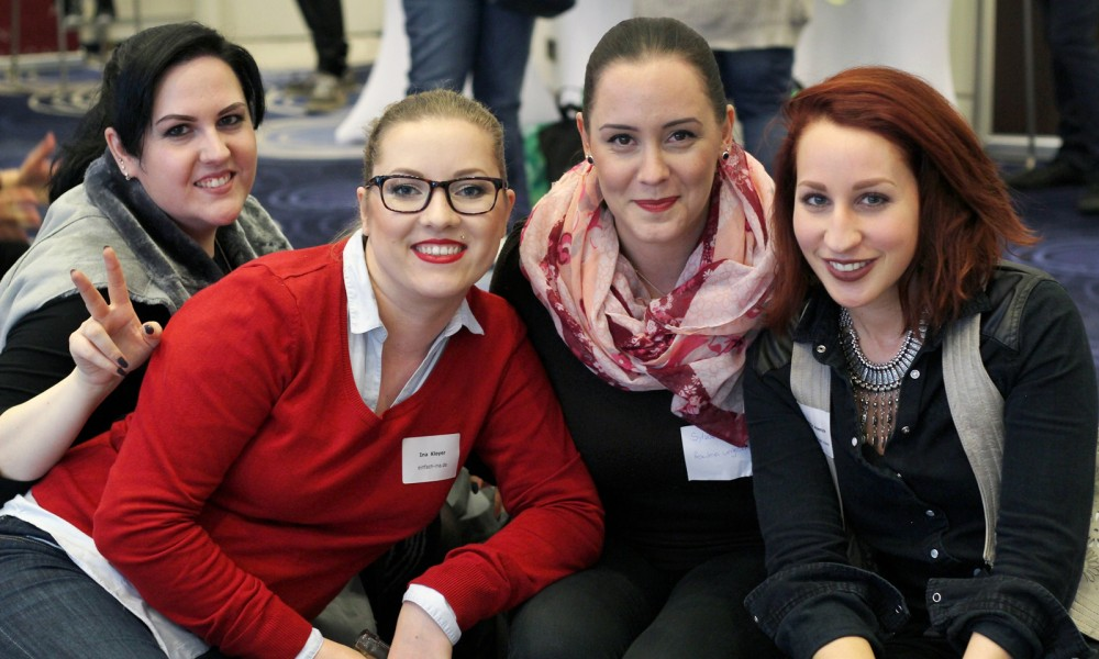 Beautypress Frankfurt 2015 Bloggermädels Kopie