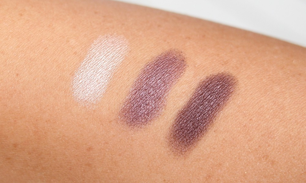 Catrice Trio Eyeshadow Deluxe Paletten 030 Rose Vintouch Swatch