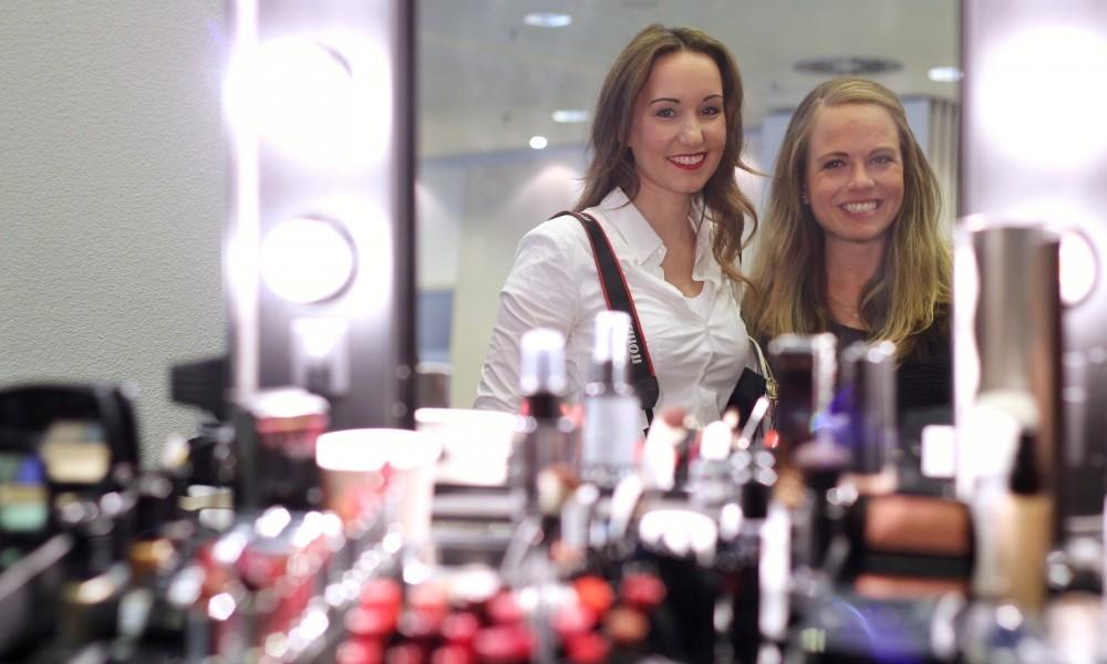 Ekulele und Vanessa Pur auf der Beautypress in Frankfurt Oktober 2015