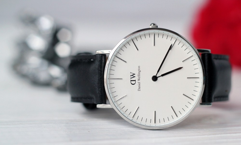 Fashionblogger Karlsruhe Daniel Wellington Uhr klassisch schwarz silber 5