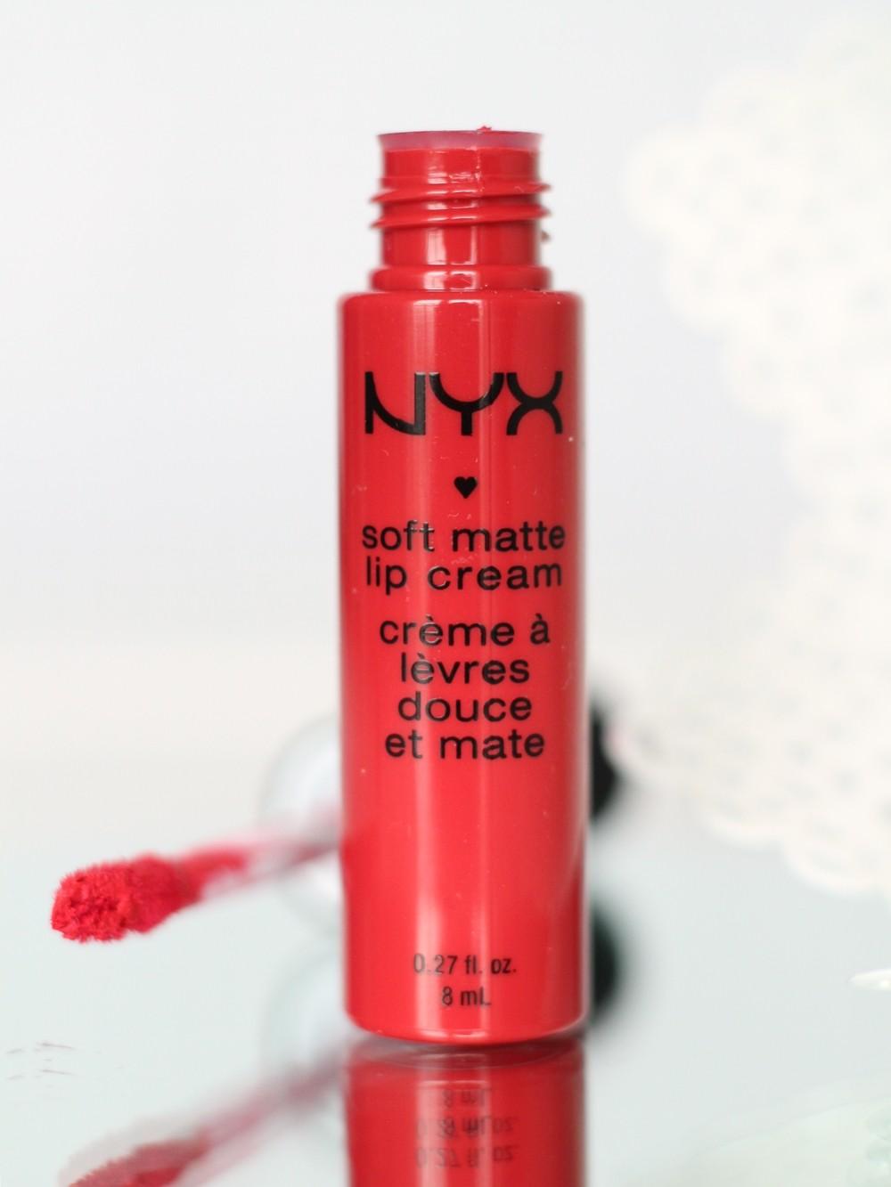 NYX Soft Matte Lip Cream Amsterdam 1