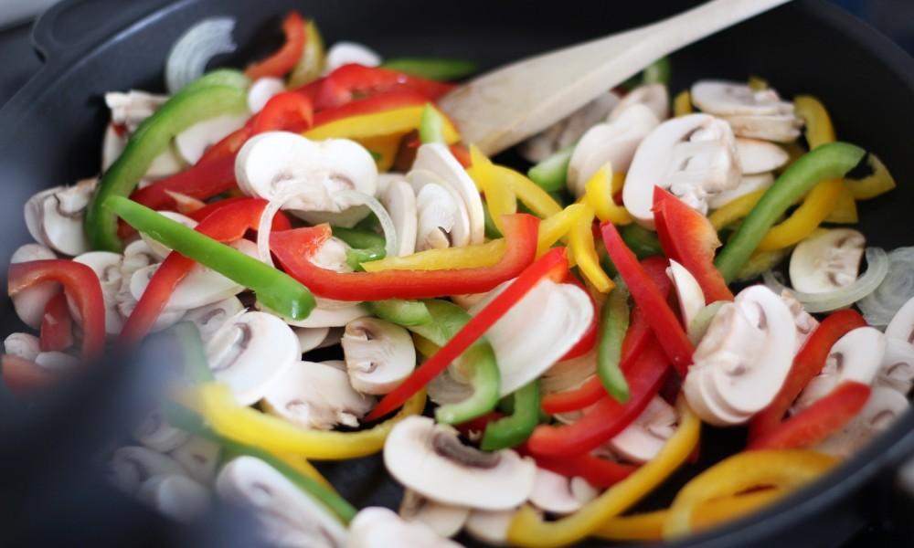 Vegetarischer Wrap Rezept 1