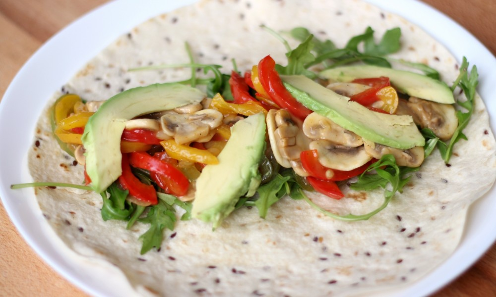 Vegetarischer Wrap Rezept 2
