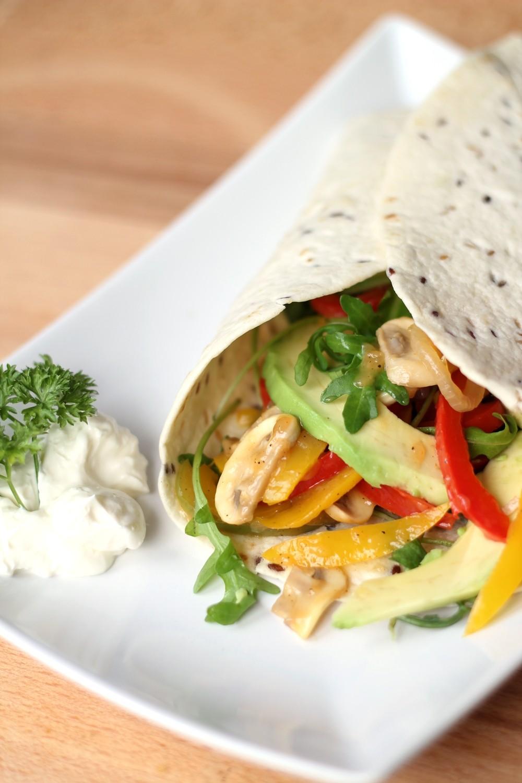 Vegetarischer Wrap Rezept 5