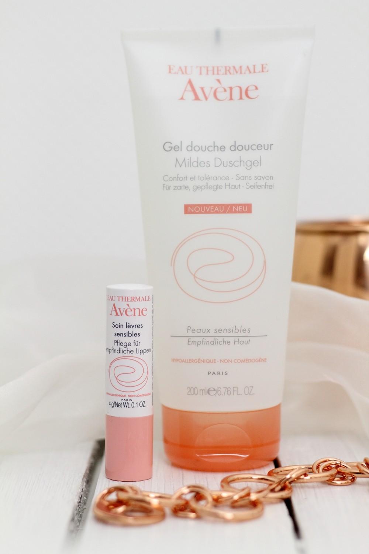 Avene Mildes Duschgel und Lippenpflege