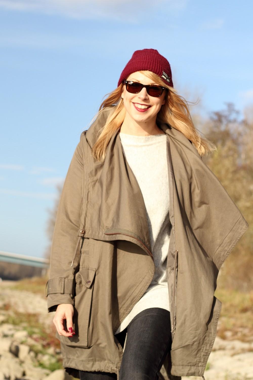 Fashionbloggerin Karlsruhe Mannheim Outfit Parka Asos Jeans New Look Vans Rhein 14
