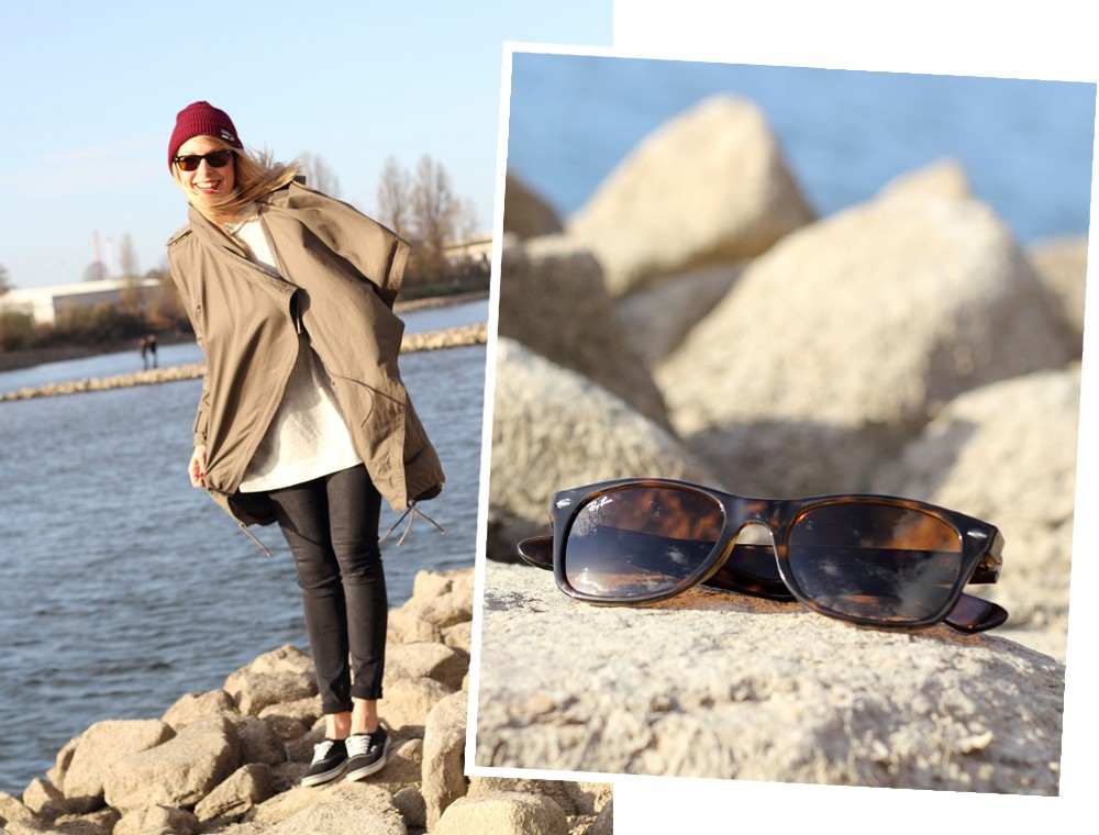 Fashionbloggerin Karlsruhe Mannheim Outfit Parka Asos Jeans New Look Vans Rhein 18