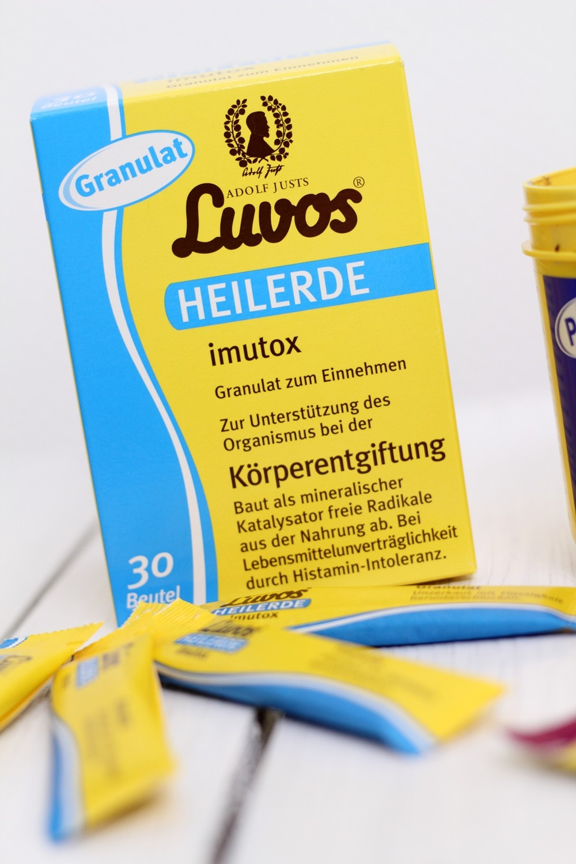 Luvos Heilerde Granulat Imutox Körperentgiftung