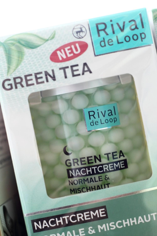 Rossmann Rival de Loop Neuheiten Green Tea Creme