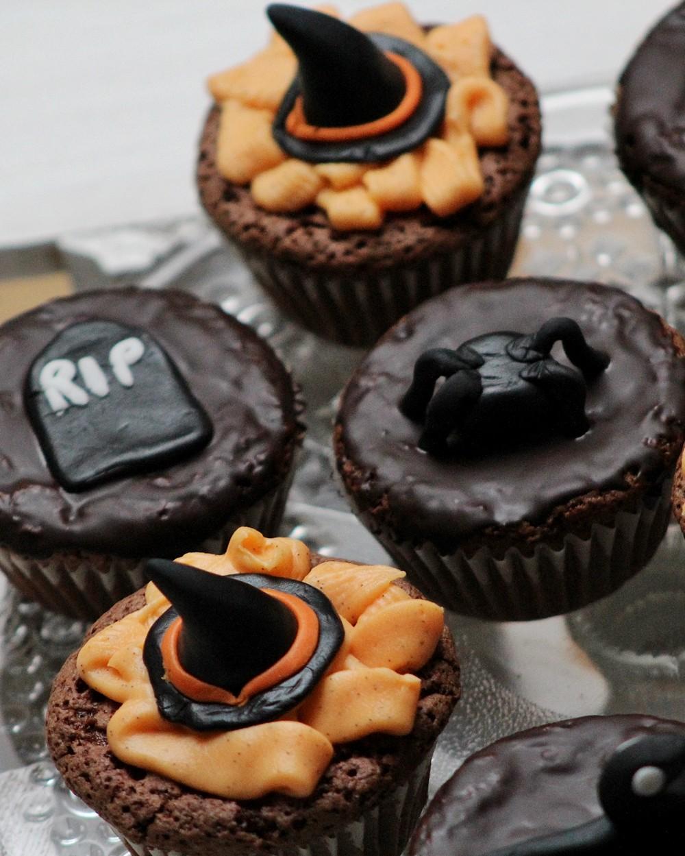 Schokoladenmuffins Fondant Halloween 3