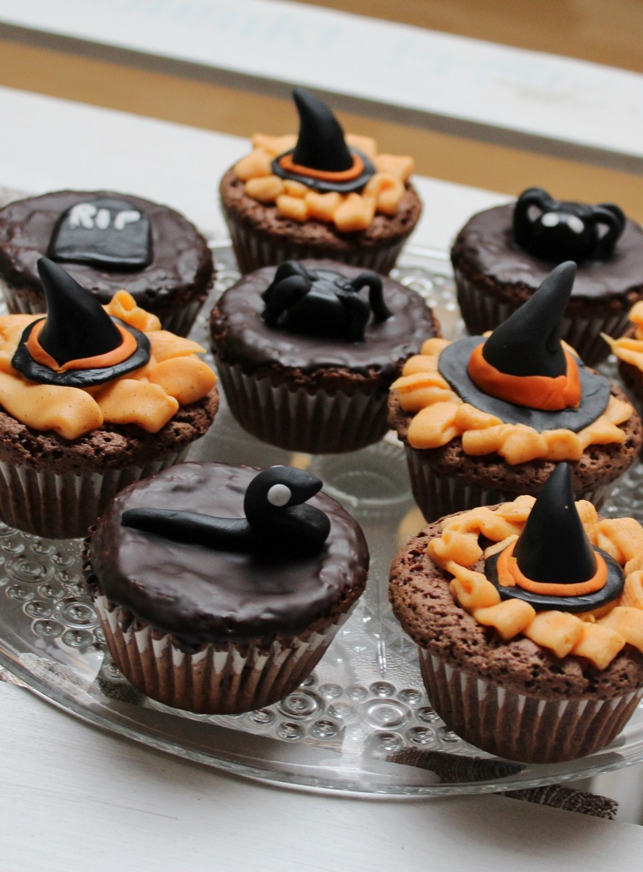 Schokoladenmuffins Fondant Halloween 5