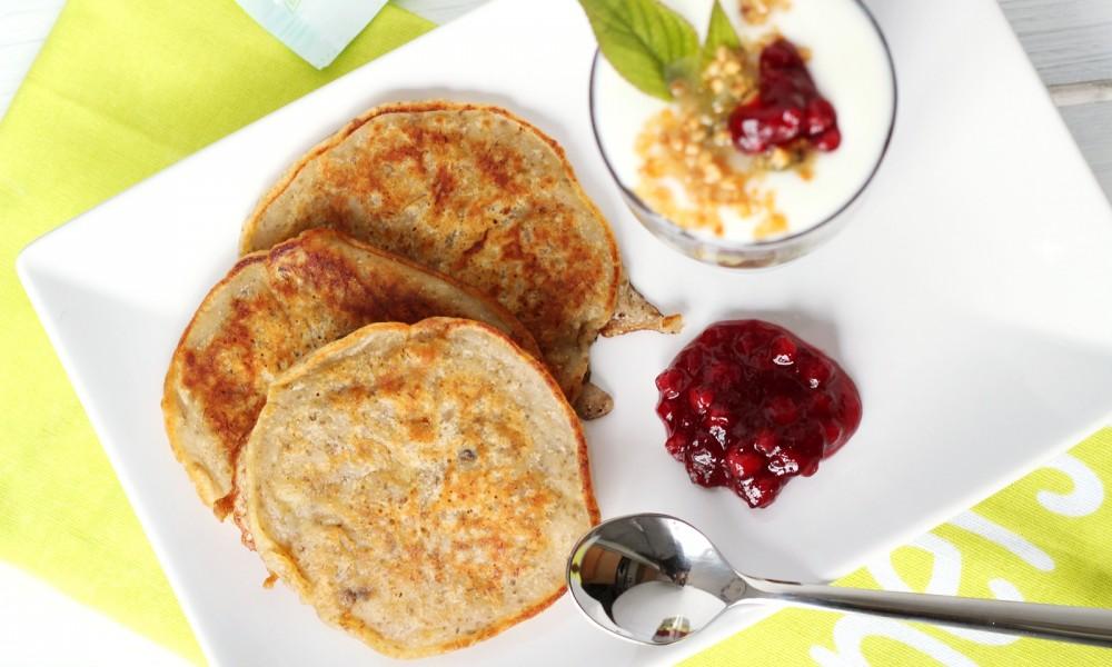 Wow gemahlene und ganze Chiasamen Chiapudding Chia Bananen Pancakes 5