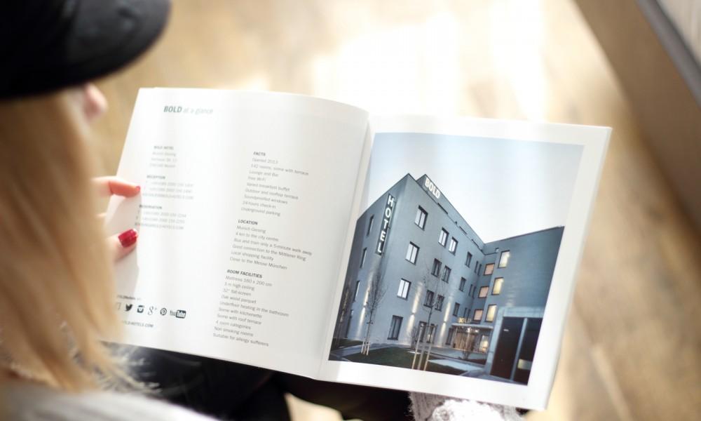 Bold Hotel München Lookbook