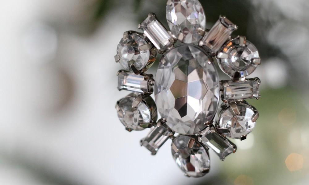 Christbaumschmuck Steine H&M Kristalle