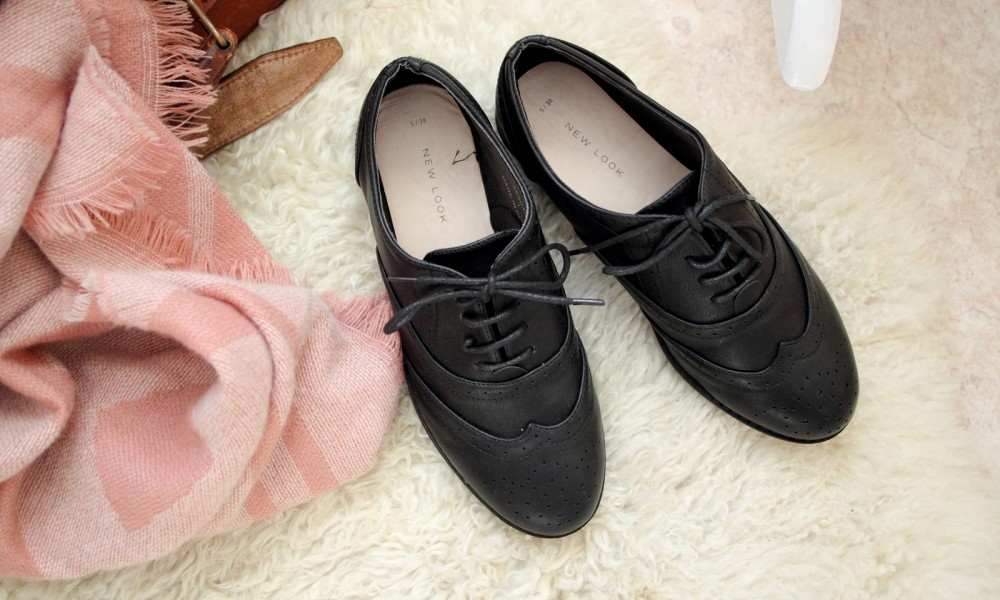 New Look Schuhe Schnürer Slipper