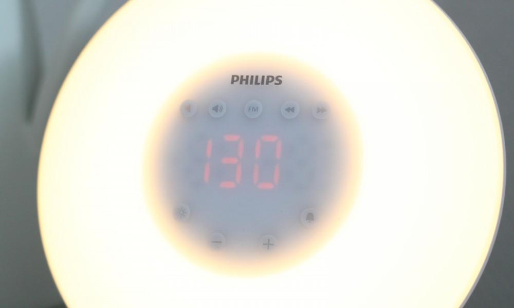 Philips Sonnenaufgangswecker Living Schlafzimmer