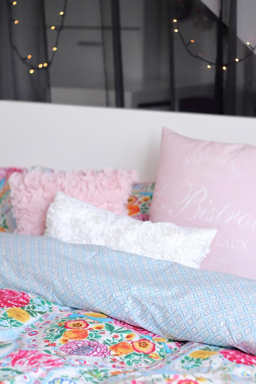 Schlafzimmer Bettwäsche PiP Lichterkette Deko Living 5