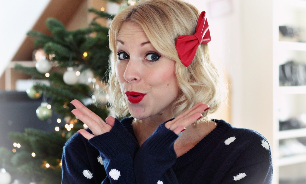 Weihnachten Christmaslook Outfit 6
