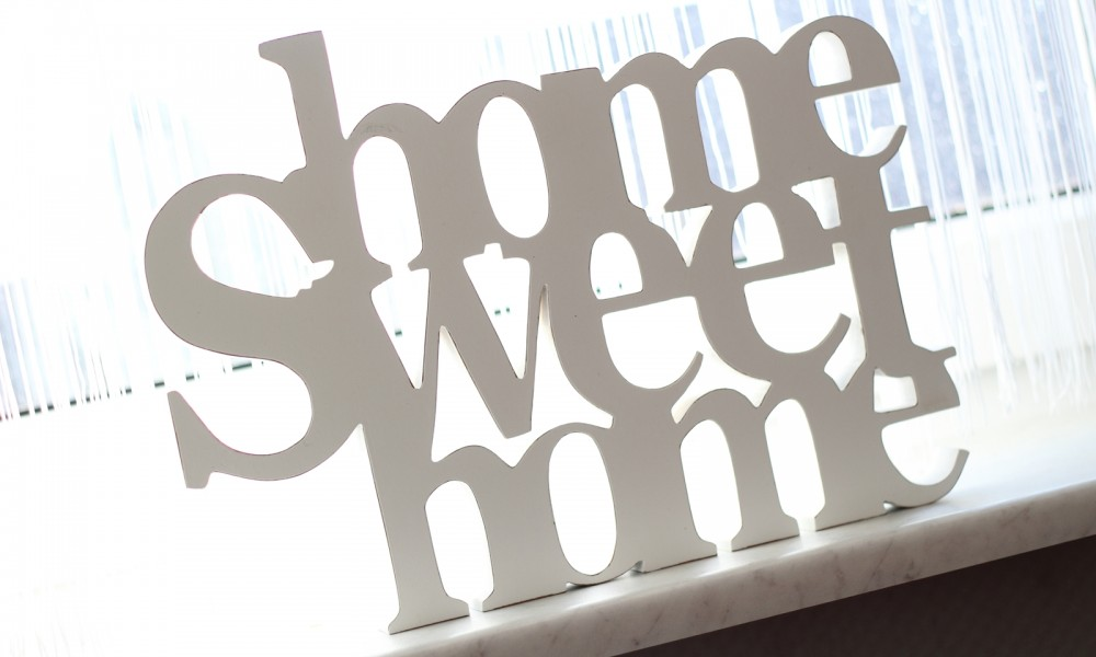 Wohnzimmer Deko Holz Home sweet Home