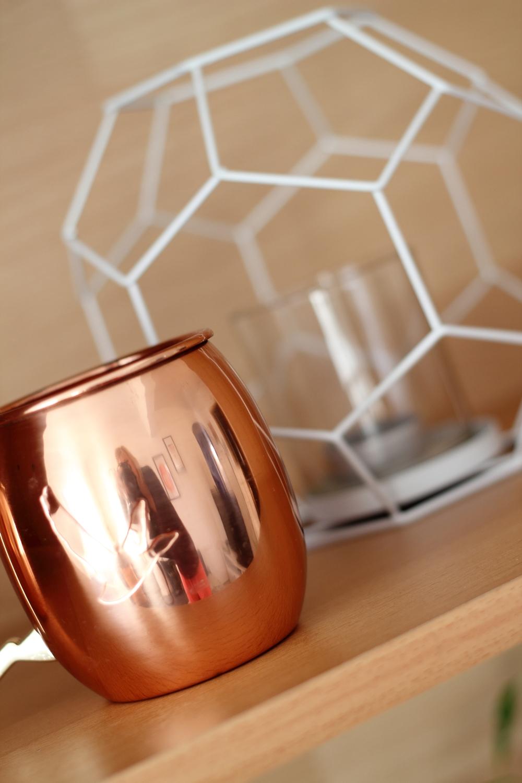 Wohnzimmer deko kupfer weiss teelichthalter xenos lavie deboite - Kupfer deko wohnzimmer ...