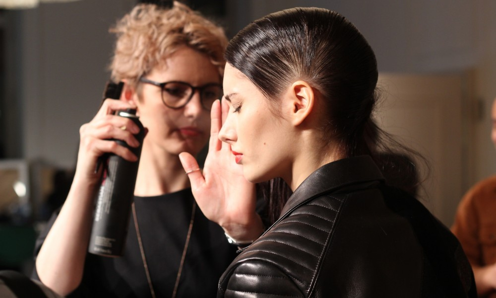Augustin Teboul Backstage Fashion Week Januar 2016Styling