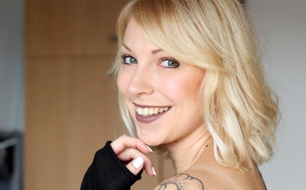 Beautyblogger Karlsruhe MAC Lippenstift Lipstick Stone Swatch 3
