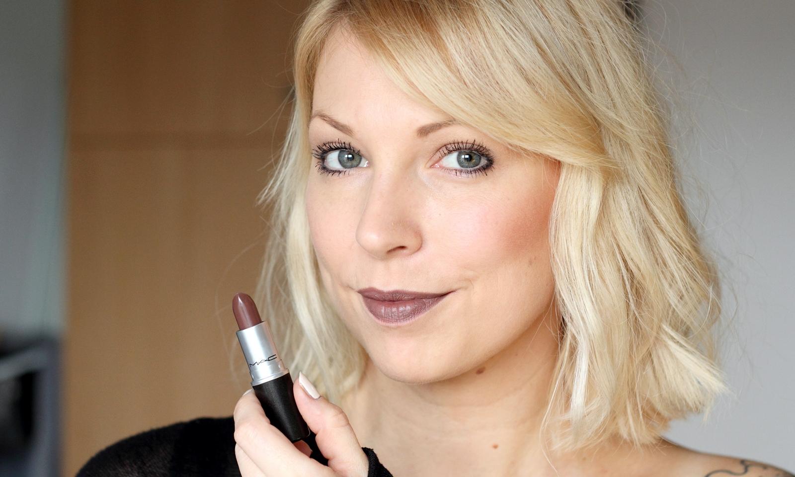 beautyblogger karlsruhe mac lippenstift lipstick stone swatch 4 lavie deboite. Black Bedroom Furniture Sets. Home Design Ideas