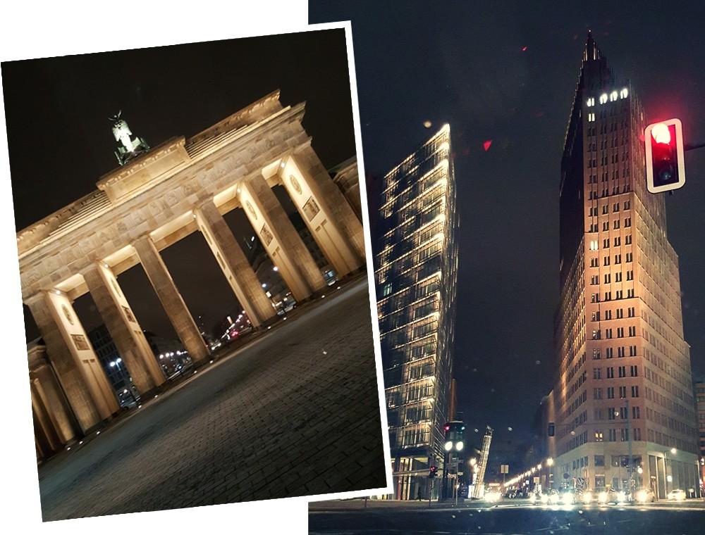 Berlin Stadtrundfahrt bei Nacht