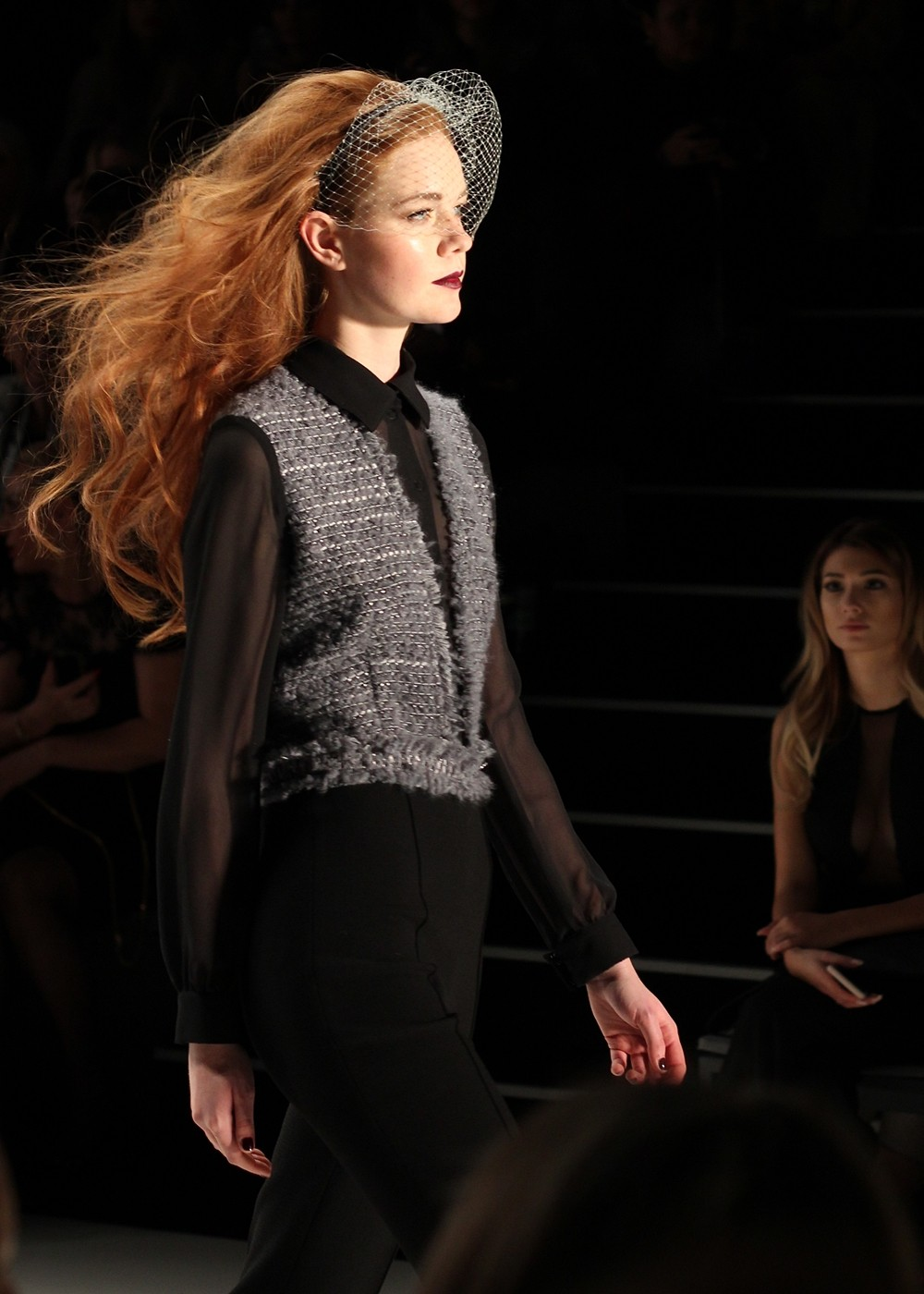 Ewa Hrzog Runway Fashion Week Januar 2016 Berlin AW