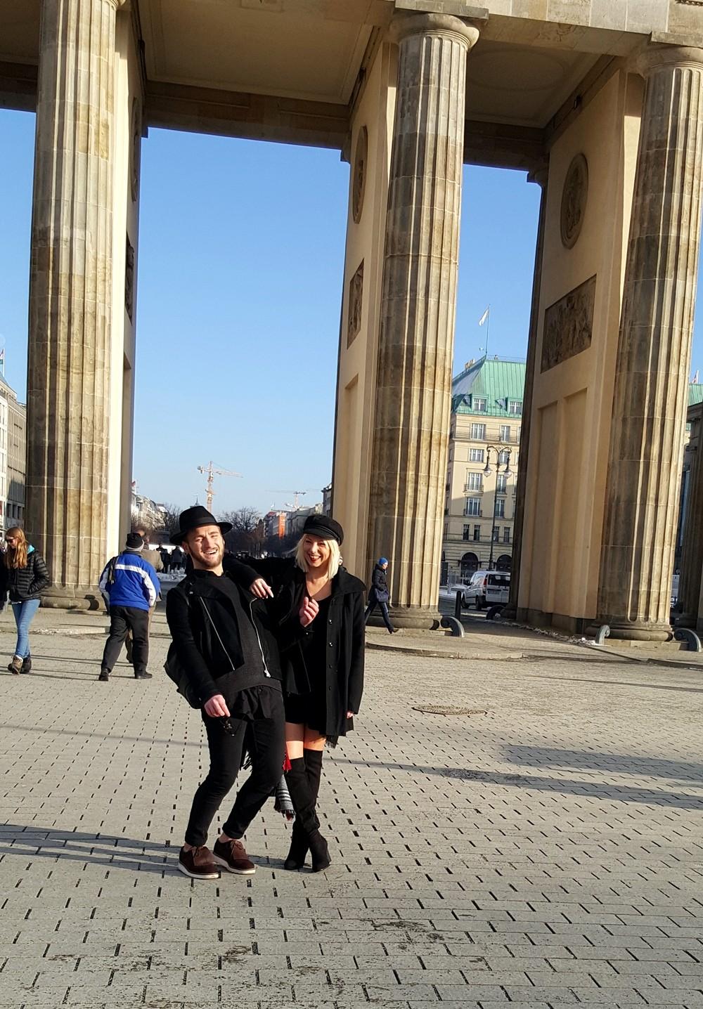 Fashionblogger Brandenburger Tor OOTD