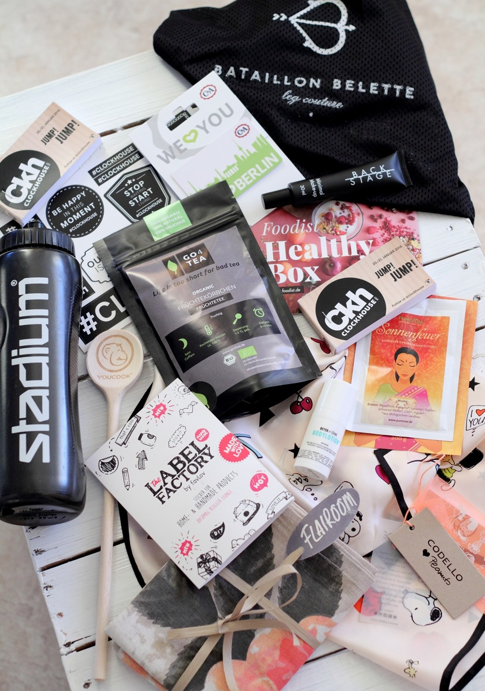 Hashmag Bloggerlounge Goodie Bag Fashion Week Berlin Januar 2016