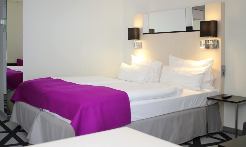 Hotelzimmer Scandic Hotel am Kurfürstendamm Bett